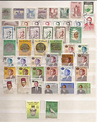 Morocco-Marruecos_Maroc  -  Lot Of Stamps