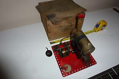 Bowman of Dereham M140 Live Steam Stationary Engine Boxed Twin Cylinder