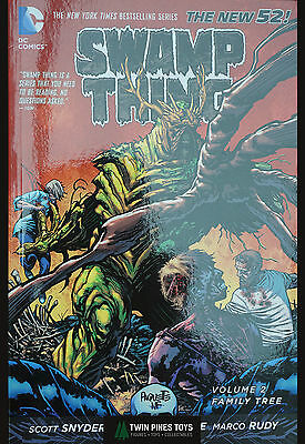 DC SWAMP THING Vol 2: FAMILY TREE. New 52. Scott Snyder. NM. Bagged.