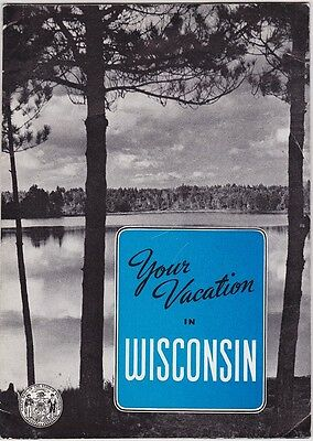 c1940 Wisconsin State Tourism Promotional Brochure