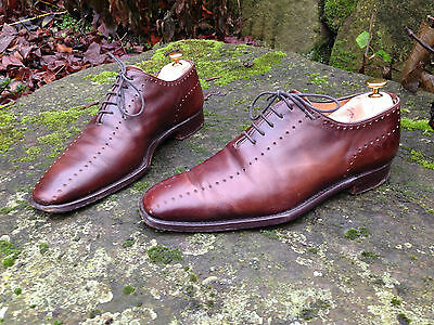 Volpe Calzatore brown wholecut shoes 8.5/9