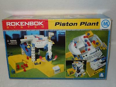 Rokenbok System Piston Plant 03720 Erector Toy Play Set in Box 1999 Germany