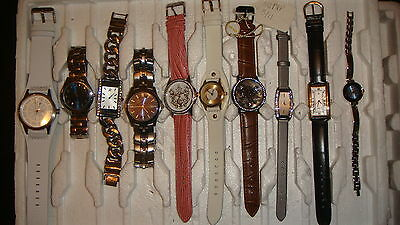 Trade Only Job Lot Of 10 X  Mixed Prototype  Watches 100% Gen ,,.,;,,,,.,