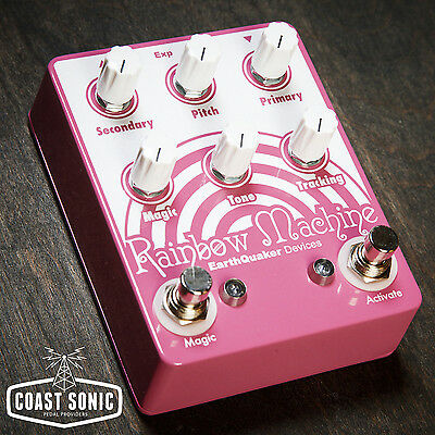 EarthQuaker Devices Rainbow Machine Effects Pedal Made in USA