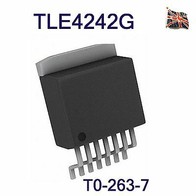 TLE4242G TLE4242 INFINEON Adjustable LED Driver  LITIX TM  Linear TO263-7