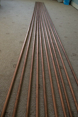 Bundle of 15mm Copper pipe - 10 x 3 MTR Lengths