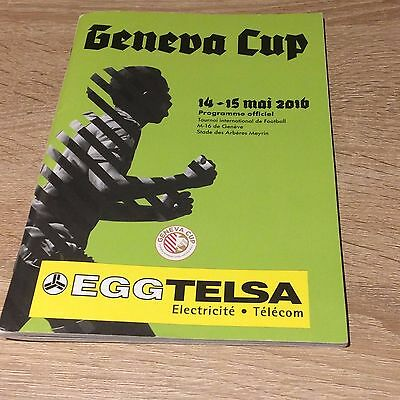 Geneva Cup Youth Tournament- May 2016- Tottenham Hotspur- Programme
