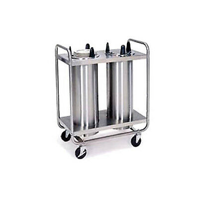 "Lakeside 6-1/2"" Dia. Non-Heated Open Tubular Frame Dish Dispenser - 7306"