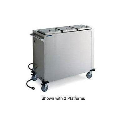"Lakeside 7511 10-1/4"" Dia. Mobile Convection Heated Plate Dispenser"