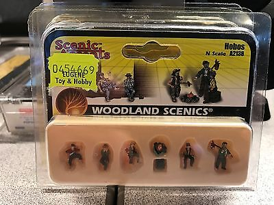 NEW Woodland Scenics Hobos N Scale A2138