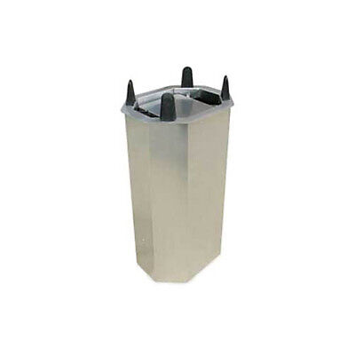 "Lakeside V5013 8-3/4"" to 12-1/2"" Shielded Frame Drop-in Oval Dish Dispenser"