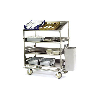 "Lakeside B591 51-7/8""Wx30-7/8""Dx69-1/4""H Soiled Dish Breakdown Cart"