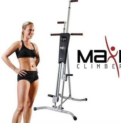 MaxiClimber The Unisex Vertical Climbing Fitness System  Original Item Uk Seller