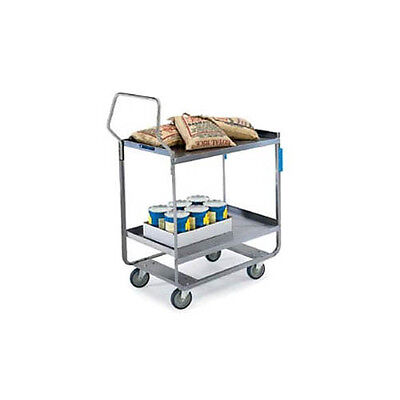 "Lakeside 4558 22-38/""x54-5/8""x49-1/8"" Handler Heavy Duty Utility Cart"