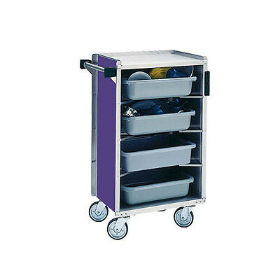 """Lakeside 890 17-5/8""""x27-3/4""""x42-7/8"""" Enclosed Bussing Cart Cabinet"""
