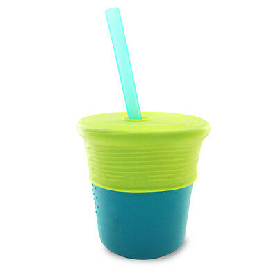 SiliKids Silicone Straw Cup for feeding toddlers & children