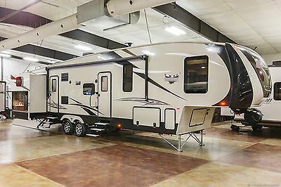 New 2017 360QB 5th Fifth Wheel Bunkhouse Travel Trailer with Outdoor Kitchen