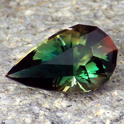 CHROME GREEN-TEAL-RED MULTICOLOR OREGON SUNSTONE 4.84Ct FLAWLESS-FOR TOP JEWELRY
