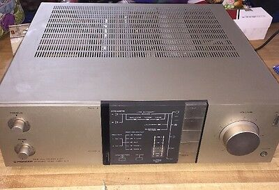 Vintage Pioneer A-7 Non-Switching Amplifier