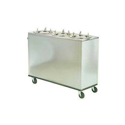 """Lakeside 962 9-3/4"""" Dia. Adjust-a-Fit® Non-heated Cabinet Dish Dispenser"""