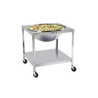 Lakeside 80Qt. Fully Welded Mobile Mixing Bowl Stand - Pb713
