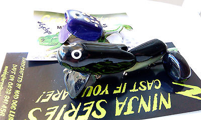 2  Murray Cod surface timber lures