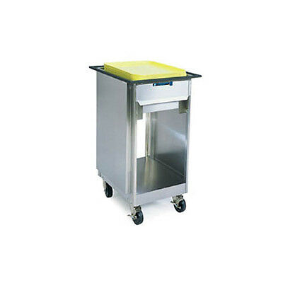 Lakeside 997 Open Base Stainless Steel Mobile Tray & Glass Rack Dispenser