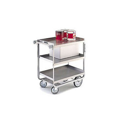 "Lakeside 19-3/8""x32-5/8""x35-1/2"" Stainless Steel Welded Utility Cart - 722"