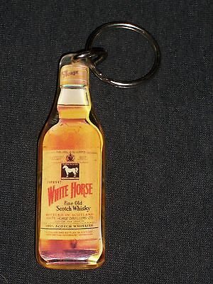 Viintage White Horse Fine Old Scotch Whisky Liquor Bottle Key Chain
