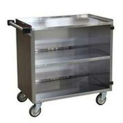 "Lakeside 644 22-1/2""x39-1/4""x37-3/8"" Stainless Steel Bussing Cart"