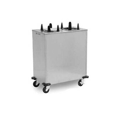 "Lakeside V6213 9-1/2"" to 13-1/2"" Heated Frame Mobile Oval Dish Dispenser"
