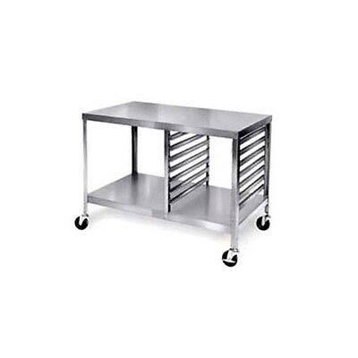 """Lakeside 130 48"""" Portable Open Design Stainless Steel Work Table"""