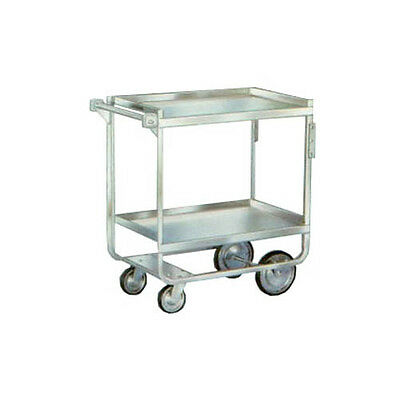 """Lakeside 721 19-3/8""""x32-5/8""""x35-1/2"""" Stainless Steel Welded Utility Cart"""