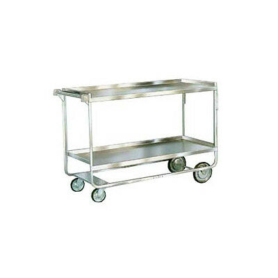 """Lakeside 758 22-3/8""""x54-5/8""""x37"""" Stainless Steel Welded Utility Cart"""