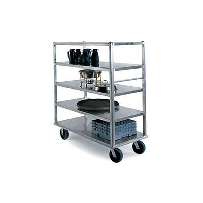 Lakeside 4565 4 Shelf Extreme Duty Queen Mary Banquet Cart