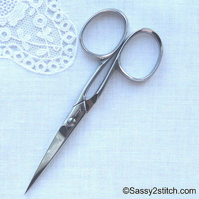 "DOVO 4"" Embroidery Scissors - Solingen, Germany"