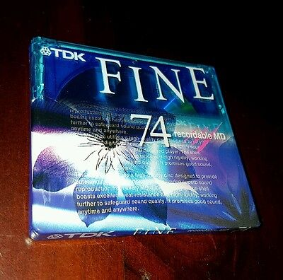 *Brand New & Sealed* TDK Fine Recordable Mini Disc High Quality