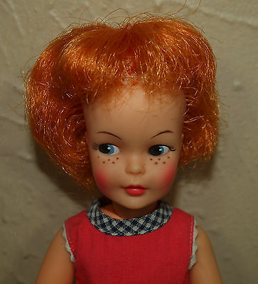 Vintage Ideal PEPPER w/ Red Hair CARROT TOP Freckles & Playsuit PRETTY!