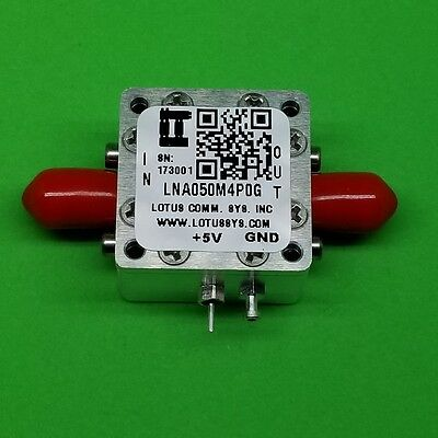 Amplifier-LNA 50MHz to 4000MHz with Ultra Low Noise Figure