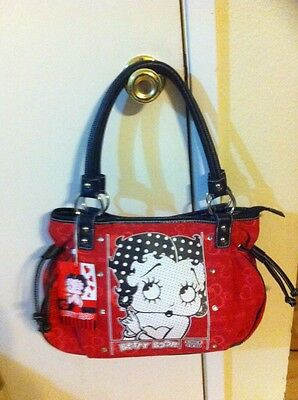 Betty Boop Purse Red/Black