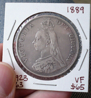 Great Britain Queen Victoria Double Florin, 1889. Spink 3923