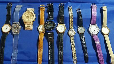 Lot Of 50 Women's Used Wristwatches