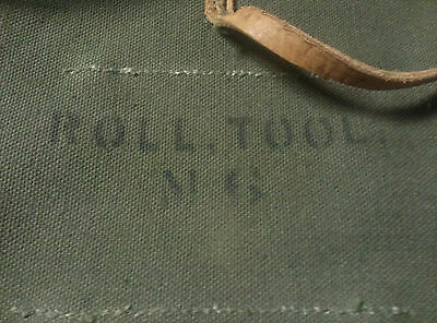 WWII US M6 Tool Roll Jeep MB GPW Original Khaki