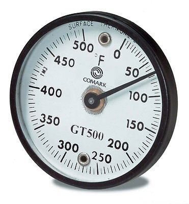"""Comark GT500K 2"""" Grill Dial Thermometer"""