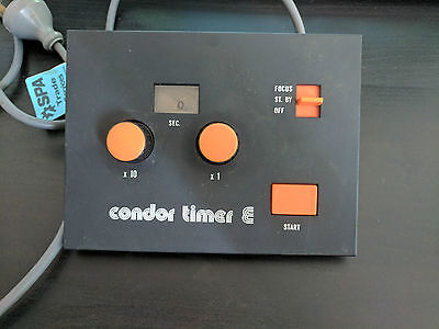 USED Condor Timer E for Photo Enlarger