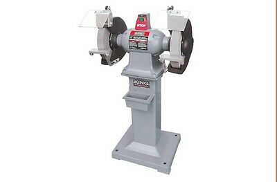 "King Canada Tools KC-1295 12"" HEAVY DUTY BENCH GRINDER WITH FLOOR STAND"
