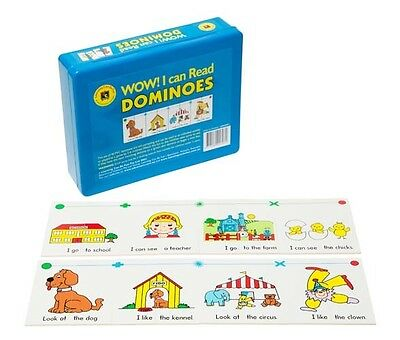 WOW! I Can Read Dominoes Game Teacher Resource Literacy Simple Sentences School