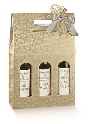 Champagne Wine Carrier - 3 Bottle - 20 boxes per case
