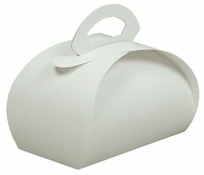 "4"" x 8"" Pastry Carrier or Two Cupcake Carrier White 100/ctn"