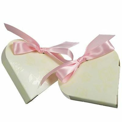 Confectionery - Cuore/Heart Ivory -200/ctn